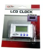 LCD Clock with Alarm with Battery