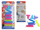 13 Pc Bag Clips In Assorted Sizes & Colors