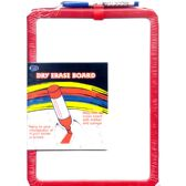 Dry Erase Board With Marker, 8.5 x 11