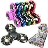 HIGH QUALITY METALLIC COLORS HAND SPINNERS.