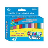 Forty Eight Count colored chalks