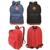 """17"""" Backpack assorted colors"""