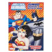 Coloring Book Justice League 96 Pages In Display Box