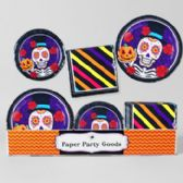 8pc Pdq Sugarskull/ DOD Paper Party Goods