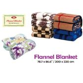 "Flannel blanket/Queen 78.7x86.6""/200x220cm"