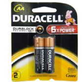 Duracell AA 2 count