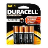 Duracell AA 4 count