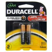 Duracell AAA 2 count
