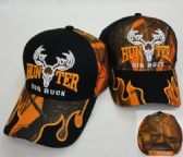 HUNTER/BIG BUCK Hat [Camo Flames on Bill]