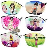 MANGA GIRLS COIN PURSES.