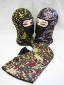 Mens Camo Ski Masks