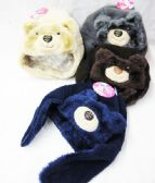 Baby Boy Winter Hat With Bear