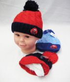 Baby Boy Winter Hat With Car