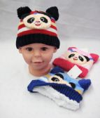 Toddler Winter Warm Hat With Bear