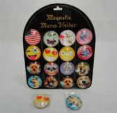 """2"""" Round Dome Magnets [Fun Prints]"""