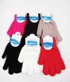 Winter Warm Womens Assorted Color Gloves