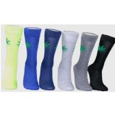 Men's Marijuana Leaf Crew Socks
