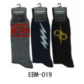 Men's Assorted Print Crew Socks