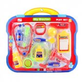 12 Pieces Doctor Play Set On Double Blister Card