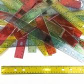 12 Inch Translucent Rulers
