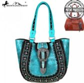 Montana West Buckle Collection Concealed Handgun Tote
