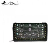 Montana West Native American Collection Secretary Style Wallet