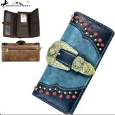 Montana West Buckle Collection Wallet