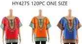 One Size Fits Most Kaftan Top Assorted Colors