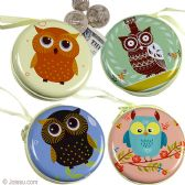 Owl Metal Coin Purses