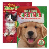 Puppies & Kittens Christmas Coloring & Activity Book