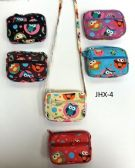 GIRL COIN PURSES ASSORTED COLOR SESAME STREET