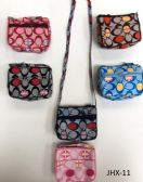 GIRL COIN PURSES ASSORTED COLOR