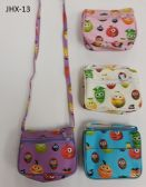 GIRL COIN PURSES ASSORTED COLOR FRUIT