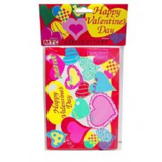 Happy Valentine 8 Pack Invitations/envelopes