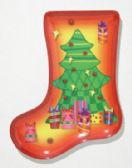 Plate, Stocking Shaped- Tree, 9-1/2""