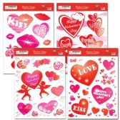 V-day window cling