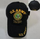 LICENSED US ARMY DAD BALL CAP *BLACK ONLY