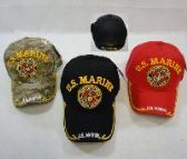 LICENSED US MARINE [SEAL] BALL CAP *ASSORTED COLORS