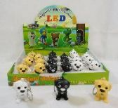 """2"""" LIGHT UP KEY CHAIN WITH SOUND EFFECTS [DOG]"""
