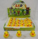 """2"""" LIGHT UP KEY CHAIN WITH SOUND EFFECTS [DUCK]"""