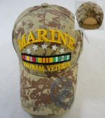 LICENSED MARINES HAT [VIETNAM VETERAN] *DIGITAL CAMO