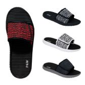 Men's Velcro Slippers Assorted Colors