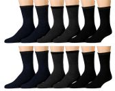 Yacht & Smith Non Slip Gripper Bottom Men's Winter Thermal Tube Socks Size 10-13