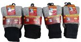 12 Pairs of excell Thermal Socks for Kids, Cotton Blend, Size 4-6