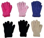 6 Pairs Of excell Womens Soft Warm And Fuzzy Solid Color