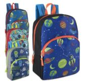 Boys Character Backpacks - 15 Inch Boy Colors