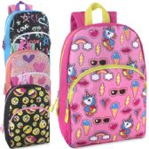 Girls Character Backpacks - 15 Inch
