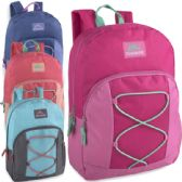 Trailmaker 17 Inch Bungee Backpack With Side Pocket - Girls