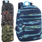 17 Inch Printed Backpacks - Boys