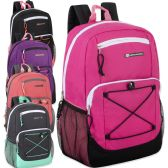 Urban Sport 18 Inch Deluxe Bungee Backpack With Padding - Girls